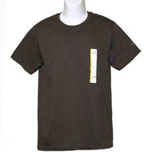 Champion T-Shirt Brown Men's Slim Fit Small
